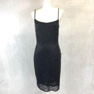 Guess Beaded Black Dress